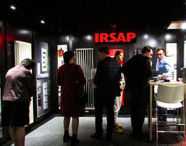 IRSAP на выставке – DAS INTERIOR & ENERGY SHOW 2019